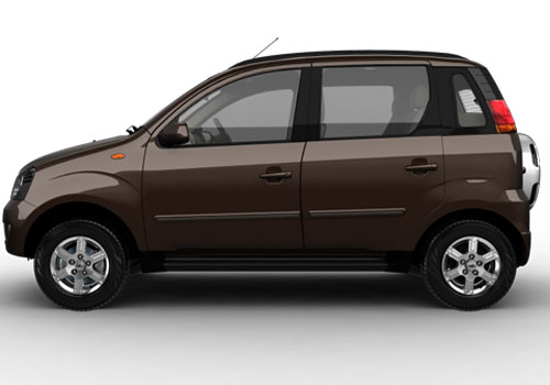 Mahindra Quanto Front Angle Side View Exterior Picture