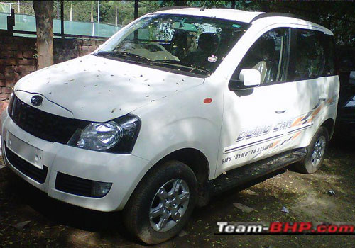 Mahindra Quanto Front Low Angle View Exterior Picture