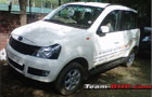 Mahindra Quanto Front Low Angle View Picture