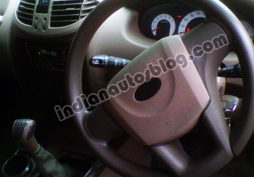 Mahindra Quanto Steering Wheel Interior Picture