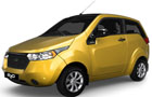 Mahindra Reva E20 in Sunfire Yellow Color