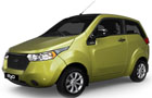 Mahindra Reva E20 in Eco Green Color