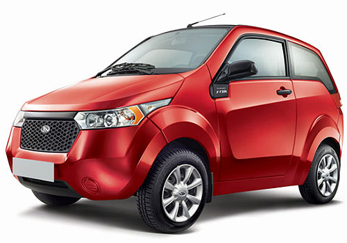 Mahindra Reva E20 Front Angle View Exterior Picture