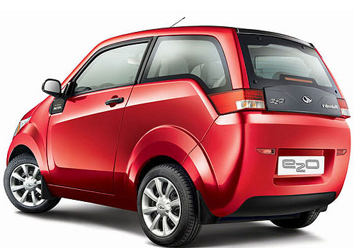 Mahindra Reva E20 Cross Side View Exterior Picture