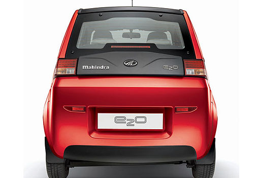Mahindra Reva E20 Rear View Exterior Picture