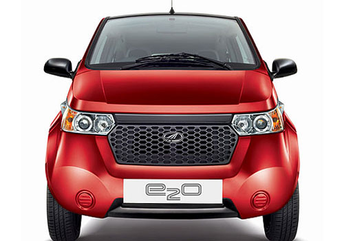 Mahindra Reva E20 Front View Picture
