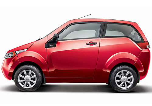 Mahindra Reva E20 Front Angle Side View Exterior Picture