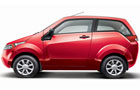 Mahindra Reva E20 Front Angle Side View Picture