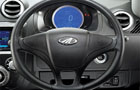 Mahindra Reva E20 Steering Wheel Picture