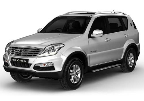 Mahindra Rexton Front Angle View Exterior Picture