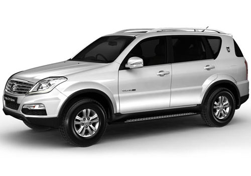 Mahindra Rexton Front Side View Exterior Picture