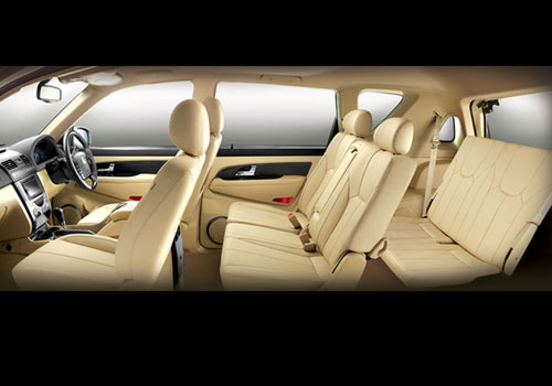 Mahindra Rexton Third Row Seat Interior Picture