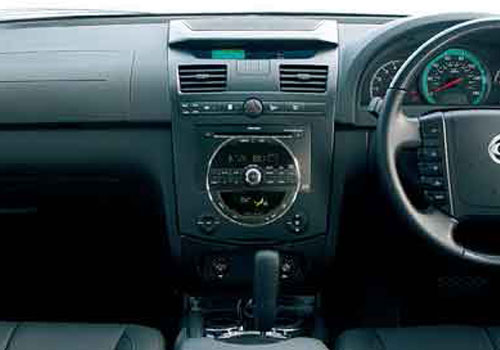 Mahindra Rexton Front AC Controls Interior Picture