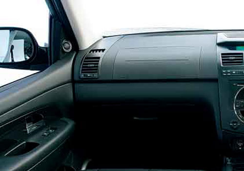 Mahindra Rexton Side AC Control Interior Picture