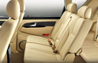Mahindra Rexton Rear Seats Picture