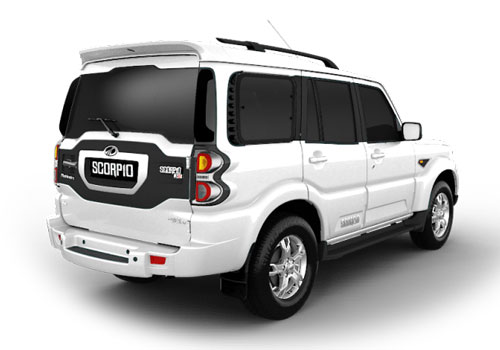 Mahindra Scorpio Rear Angle View Exterior Picture