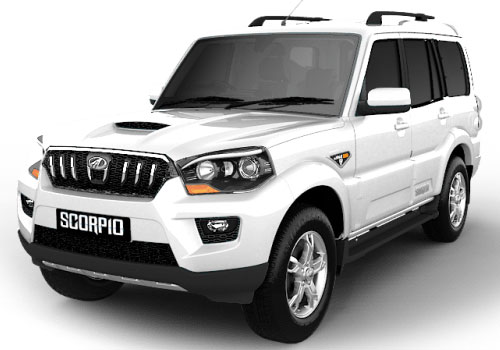 Mahindra Scorpio Front View Side Picture
