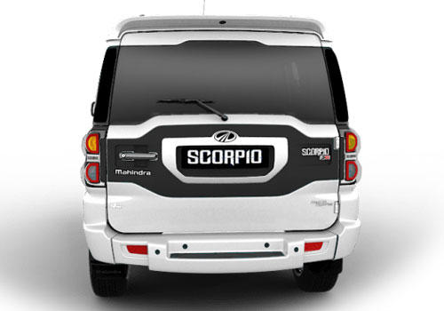 Mahindra Scorpio Rear View Exterior Picture