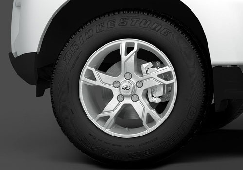 Mahindra Scorpio Wheel and Tyre Exterior Picture