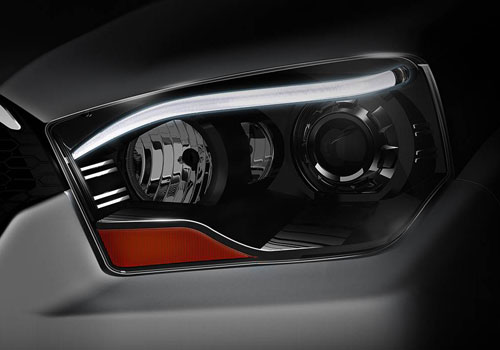 Mahindra Scorpio Headlight Exterior Picture