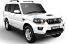 Mahindra Scorpio Front Low Angle View Picture