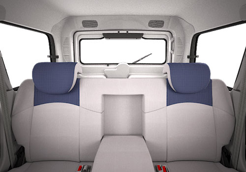 Mahindra Scorpio Rear Seats