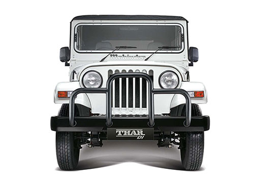 Mahindra Thar Front View Picture