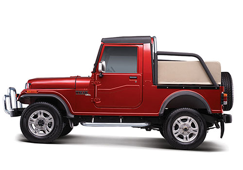 Mahindra Thar Front Angle Side View Exterior Picture