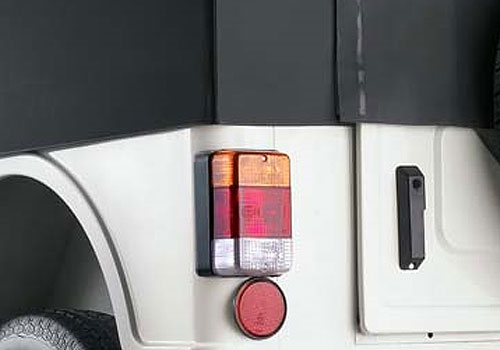 Mahindra Thar Tail Light Exterior Picture
