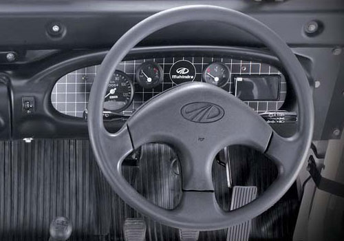 Mahindra Thar Steering Wheel Interior Picture