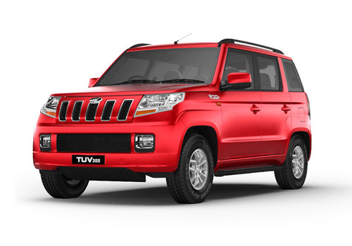Mahindra TUV 300 Front Angle View Exterior Picture