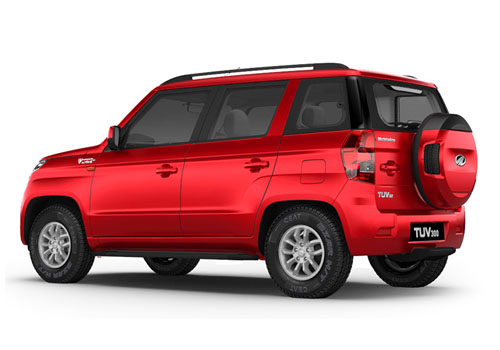 Mahindra TUV 300 Cross Side View Exterior Picture