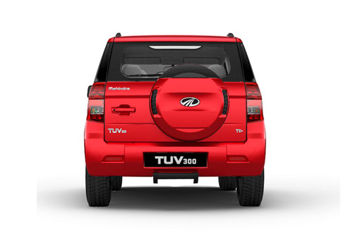 Mahindra TUV 300 Rear View Exterior Picture