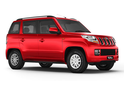 Mahindra TUV 300 Front Side View Exterior Picture
