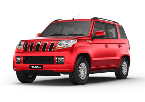 Mahindra TUV 300 Front Angle Low Wide Exterior Picture