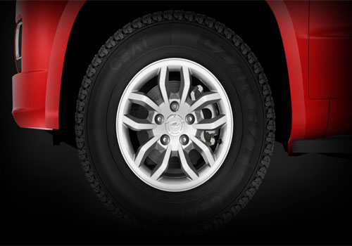 Mahindra TUV 300 Wheel and Tyre Exterior Picture