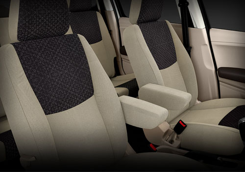 Mahindra TUV 300 Front Seats Interior Picture