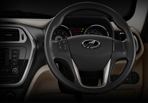 Mahindra TUV 300 Steering Wheel Interior Picture
