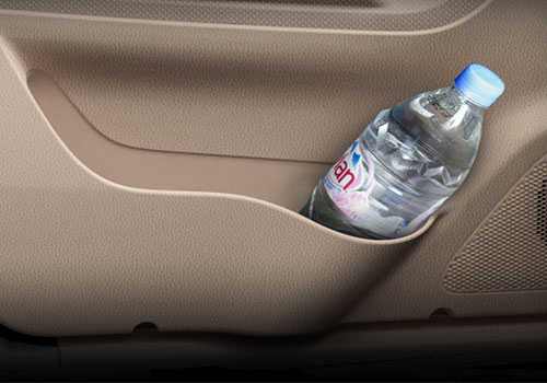 Mahindra TUV 300 Cup Holders Interior Picture
