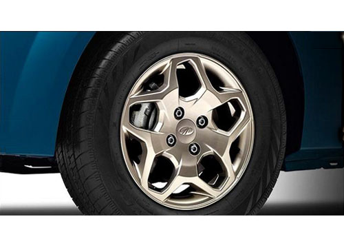 Mahindra Verito Vibe Wheel and Tyre Exterior Picture
