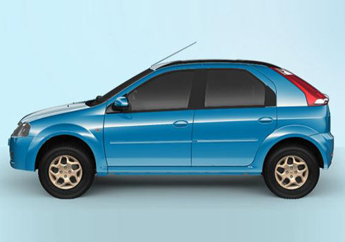 Mahindra Verito Vibe Front Angle Side View Exterior Picture