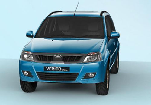 Mahindra Verito Vibe Front High Angle View Exterior Picture