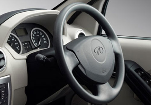 Mahindra Verito Steering Wheel Interior Picture