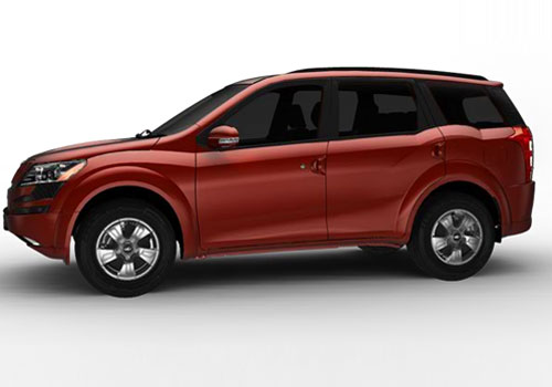Mahindra XUV 500 Front Angle Side View Exterior Picture