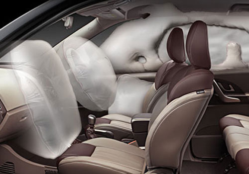 Mahindra XUV 500 Airbag Picture