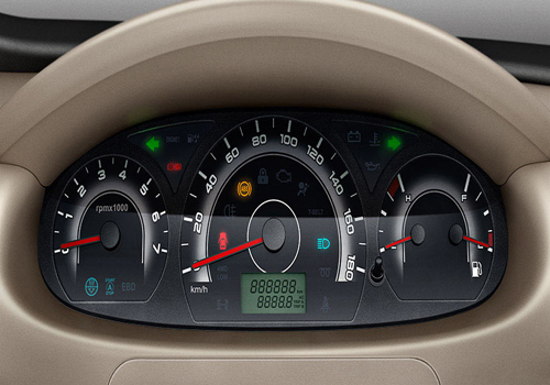 Mahindra Xylo Tachometer Interior Picture