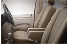 Mahindra Xylo Front Seats Photos