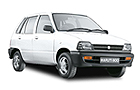 Maruti 800 in White Color
