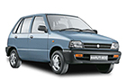 Maruti 800 in Silver Color