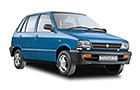 Maruti 800 in Blue Color